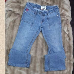 Parasuco jeans wide leg pants denim